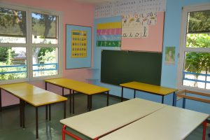 Classe école maternelle