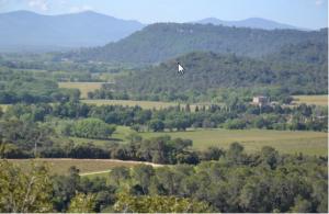 Vue du site panoramique de Taradel